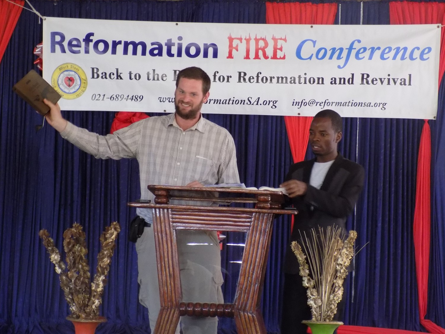 Back to the BIble reformation conference malawi