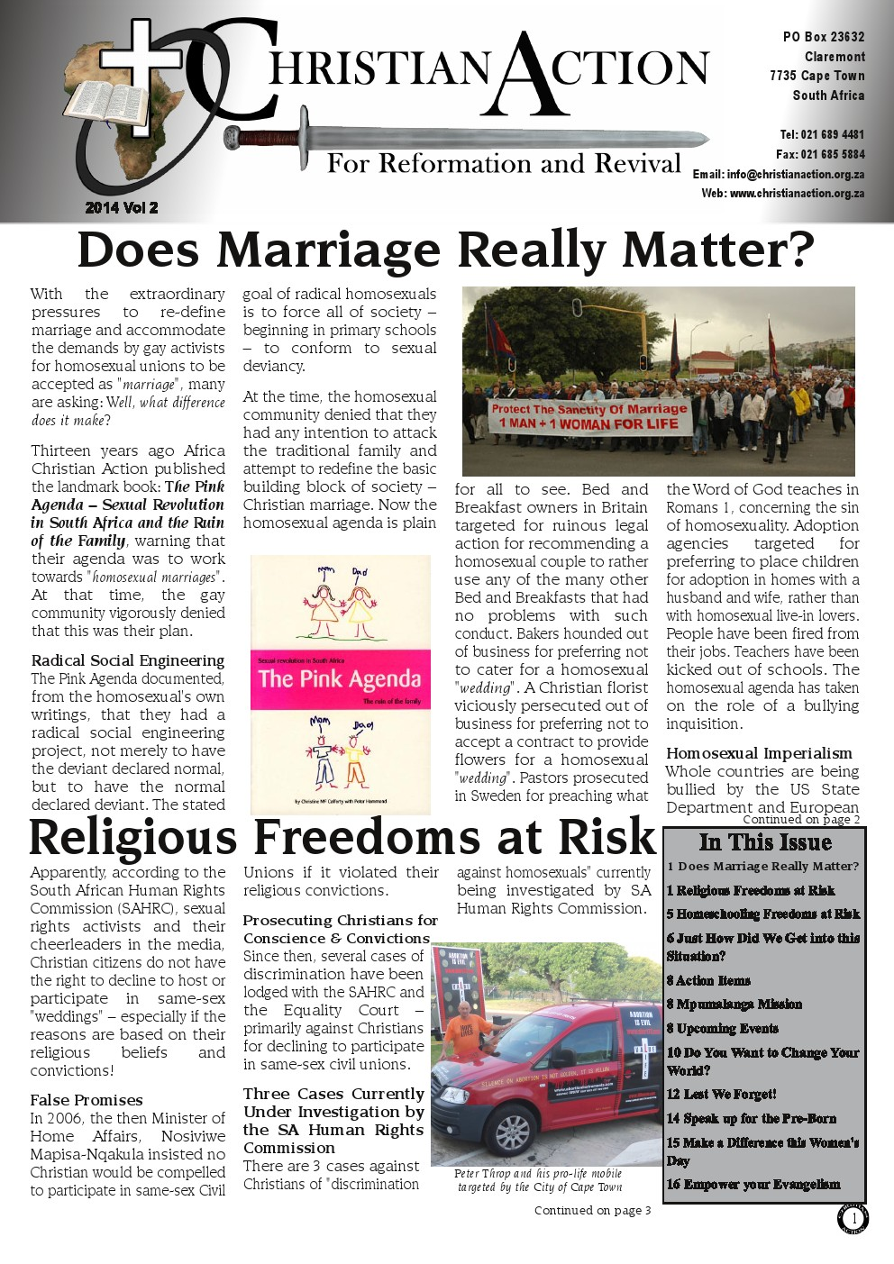 CA mag Does Redefintion of Marriage matter