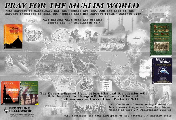 Pray for the muslim world