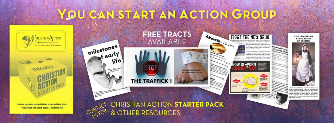 Christian Action Starter Pack