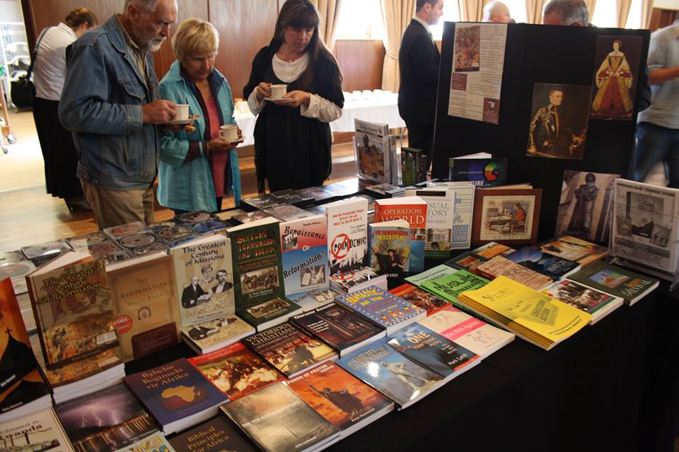book table Reformation FIRE conference
