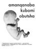 Leaflet: Amanqanaba Kubomi Obutsha (Xhosa)