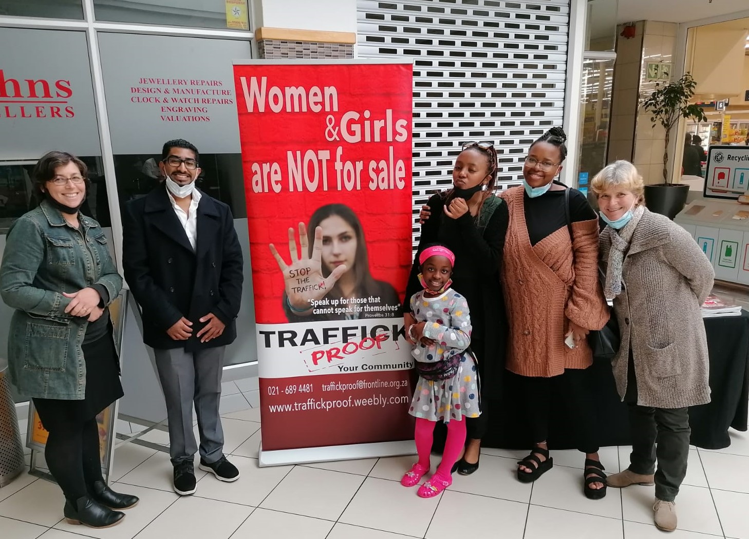 WOMENS DAY OUTREACHES in CAPE TOWN 1